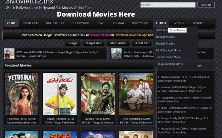 Movierulz | Download Latest Hollywood, Bollywood And Web Series | Unblock Using Proxy(Mirror) Sites [Updated 2020]
