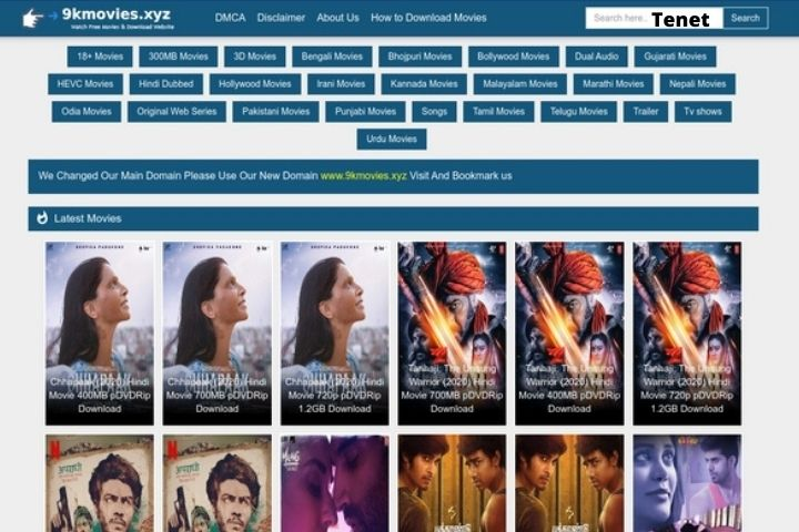 9kmovies 2020   Illegal HD Movies Download Website   Proxy Unblock (Updated 2021)