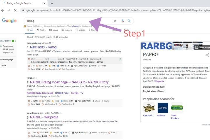 Rarbg-step1