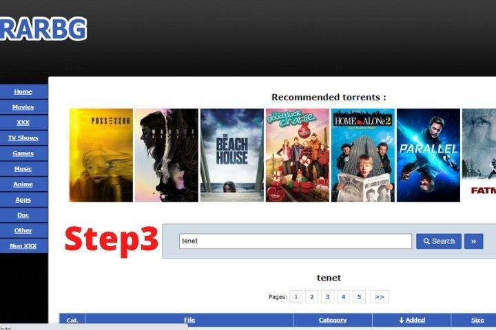 Rarbg-step 3