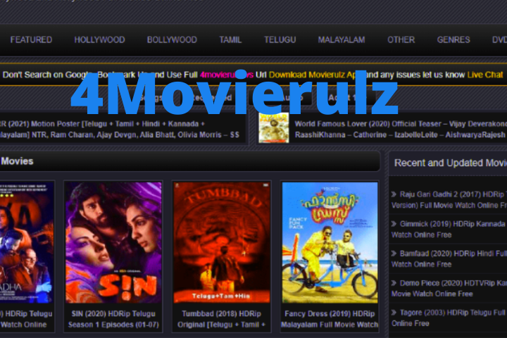 4movierulz Download Movies Webseries Tv Shows 3Movierulz